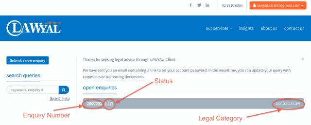 3. Client Portal